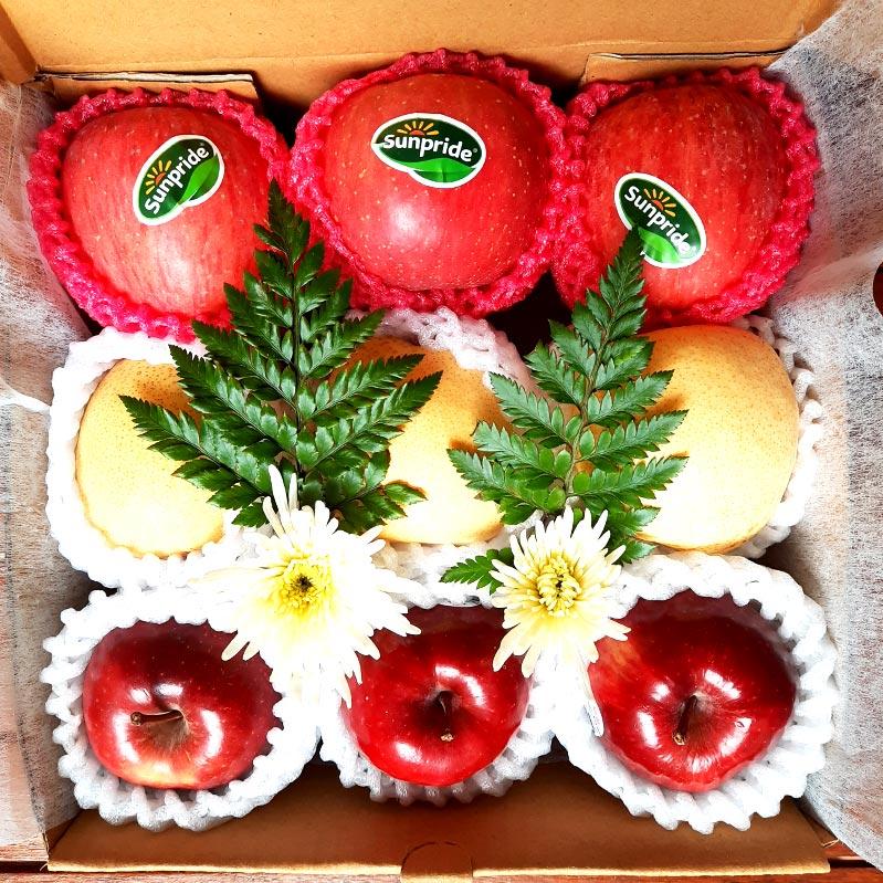 hampers buah